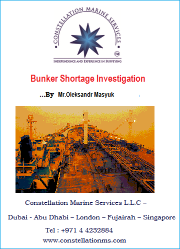 Bunker shortage investigation