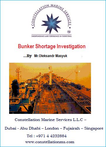 Bunker shortage investigation