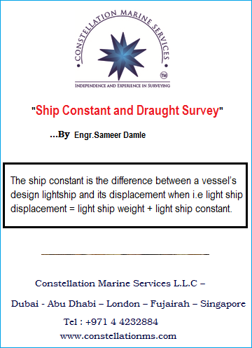Ship-constant-and-draught-surveys