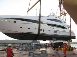the yacht repair inspection