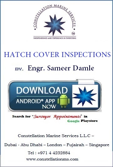 Hatch cover inspections